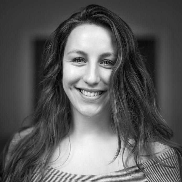 Geertje Hulzebos. University Research Fellow bij het Diversity Office van de Vrije Universiteit en behaalde haar MSc Onderwijswetenschappen cum laude.  Beeld