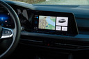 VW Golf 8, dashboard.