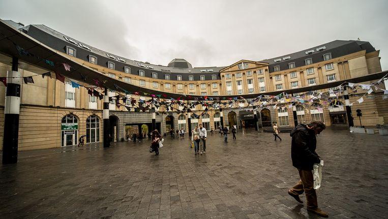 Het Meridien-hotel in Brussel (archiefbeeld). Beeld BELGA