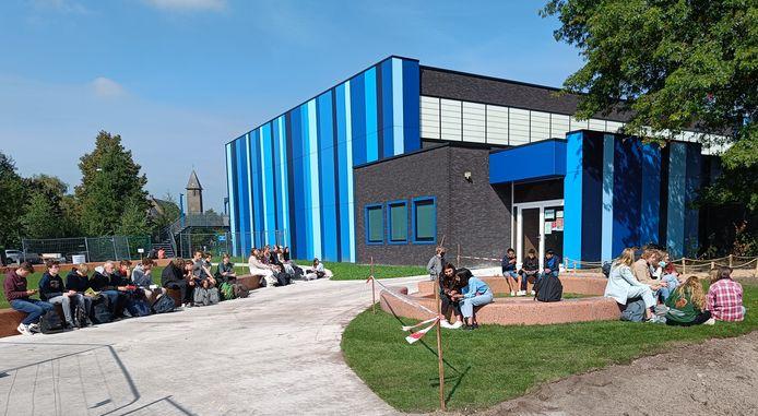 De nieuwe speelplaats van het Sint-Pietersinstituut in Turnhout
