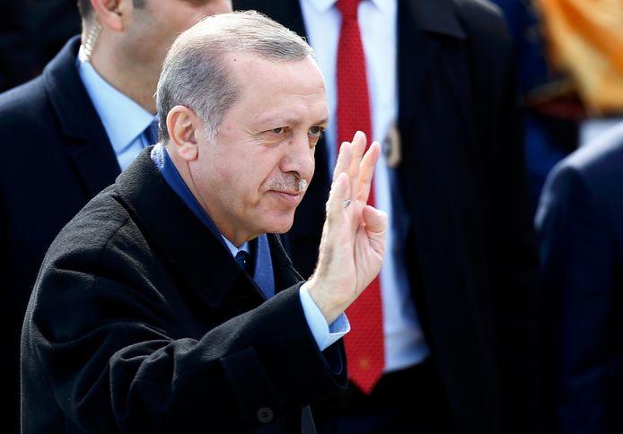 Turkise president Tayyip Erdogan.