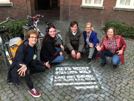GroenLinks in Breda start actie 'fietsmeldpunt'