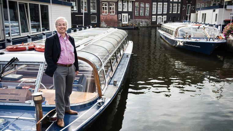 Felix Guttmann, voorzitter van Amsterdam Light Festival. Beeld Mats van Soolingen