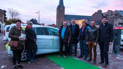 Boechout verwelkomt eerste elektrische deelwagen