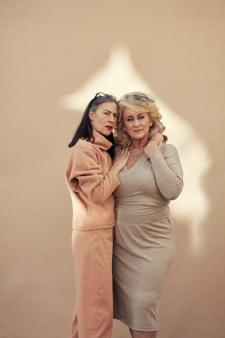 Karin Bloemen en Adelheid Roosen. Beeld Mounir Raji