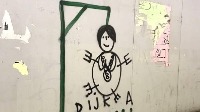 Burgemeester Sharon Dijksma doet aangifte na bedreigende tekening van galg