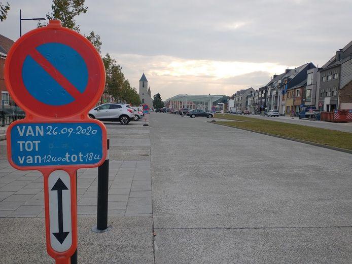 Illustratiefoto van parkeerverbod