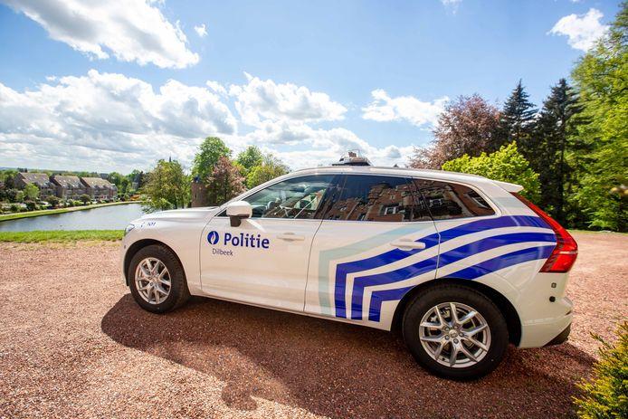 DILBEEK: Interventievoertuig lokale politie politiezone Dilbeek Volvo XC60: