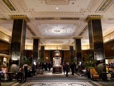 Voorlopig niet meer slapen in Waldorf Astoria