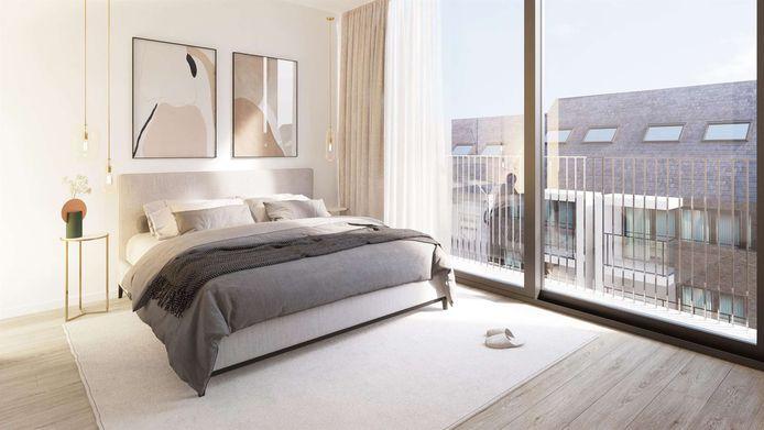 Zo ziet een slaapkamer er straks uit