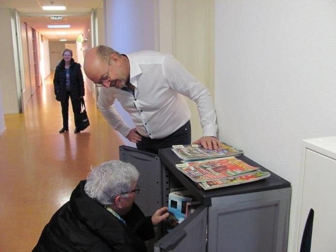 Nieuwe 'bieb' in school Velddriel