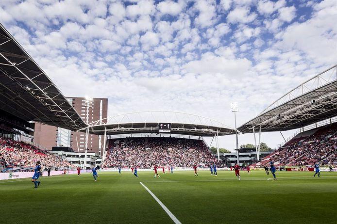 Het 'open' stadion Galgenwaard in Utrecht