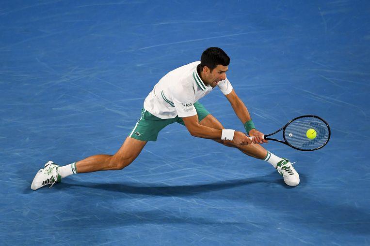 Novak Djokovic. Beeld EPA