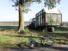 Fietser (8) gewond door aanrijding met tractor in Vierlingsbeek