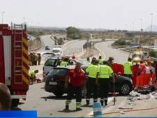 Twee Nederlanders en Belgische peuter omgekomen bij heftig ongeval in Spanje