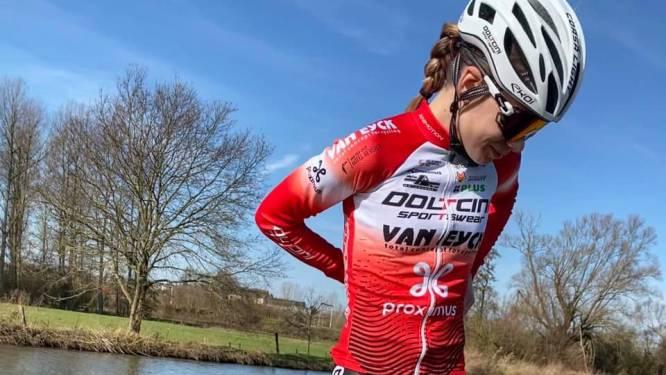 """Mieke Docx heeft trainingen hervat na sleutelbeenbreuk: """"Ik heb een pak mooie koersen gemist"""""""
