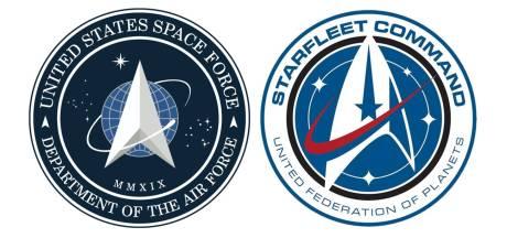 Amerikaanse Space Force-logo lijkt wel héél erg op dat van Star Trek