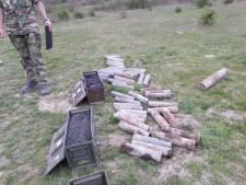 In tuin gevonden oorlogstuig tot ontploffing gebracht