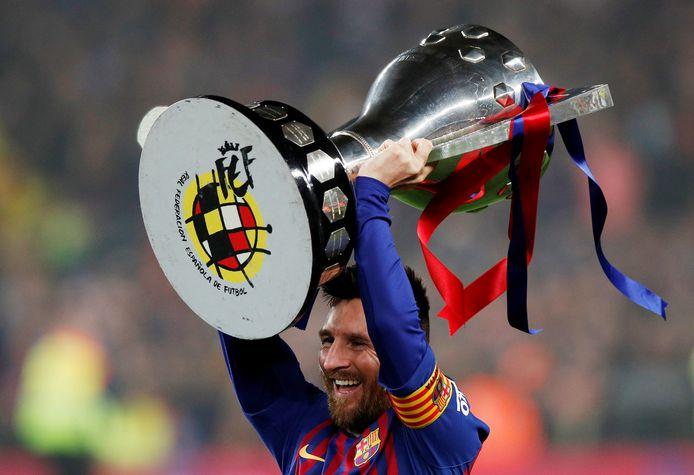 De landstitel in het seizoen 2018-19 is voorlopig de laatste prijs voor FC Barcelona.