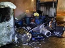 Vrachtwagen met xtc-afval vat vlam: 'ook voor rechercheurs is het schrikken'