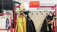 Vier personen bevangen door de rook bij schouwbrand