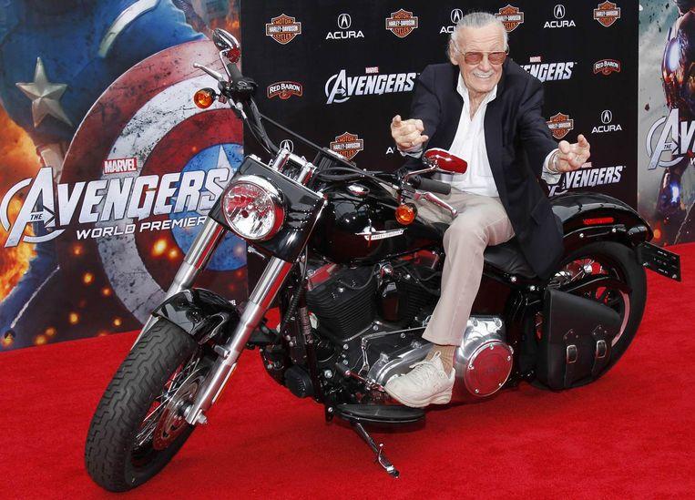 Stan Lee, bedenker van vele Marvel-karakters Beeld reuters