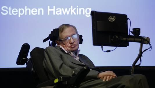 Wetenschapper Stephen Hawking.