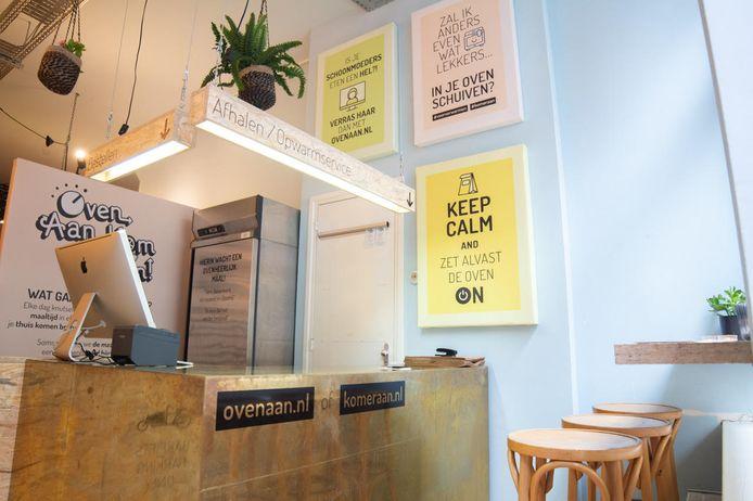 Bezorgrestaurant Oven Aan, Kom eraan