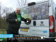 CDA-raadslid Hardenberg maakt volgens Jinek winnend campagnefilmpje met 'Jan de lijstduwer'
