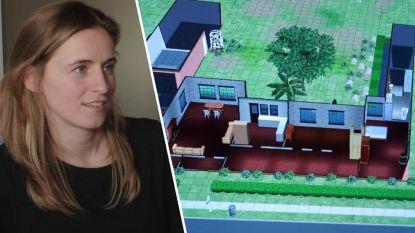 Het droomhuis van Roxane? Dat staat in het universum van 'The Sims'