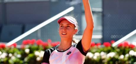 Elise Mertens signe un exploit XXL en renversant Simona Halep en 8es de finale de Madrid