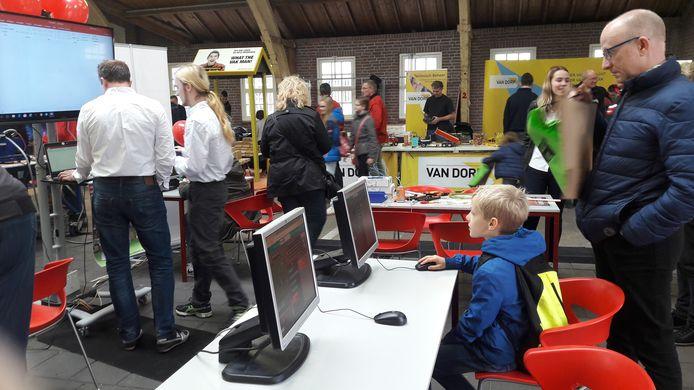 Techniekdag in de Markthal in Didam