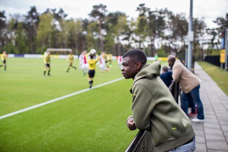 Renald Majoor werd in de jeugd van Vitesse misbruikt. In de Volkskrant deed hij zijn verhaal. Beeld Jiri Buller