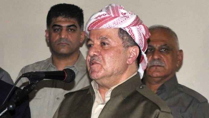 Massoud Barzani, président du Kurdistan irakien