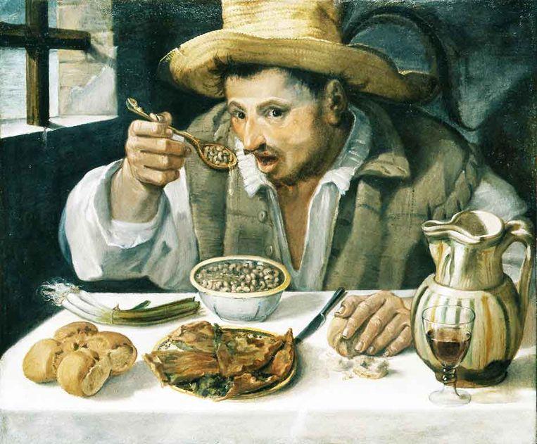 'De boneneter' Beeld Annibale Carracci