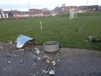 Opnieuw vandalisme op Park Spooreinde: vuilnisbak opgeblazen