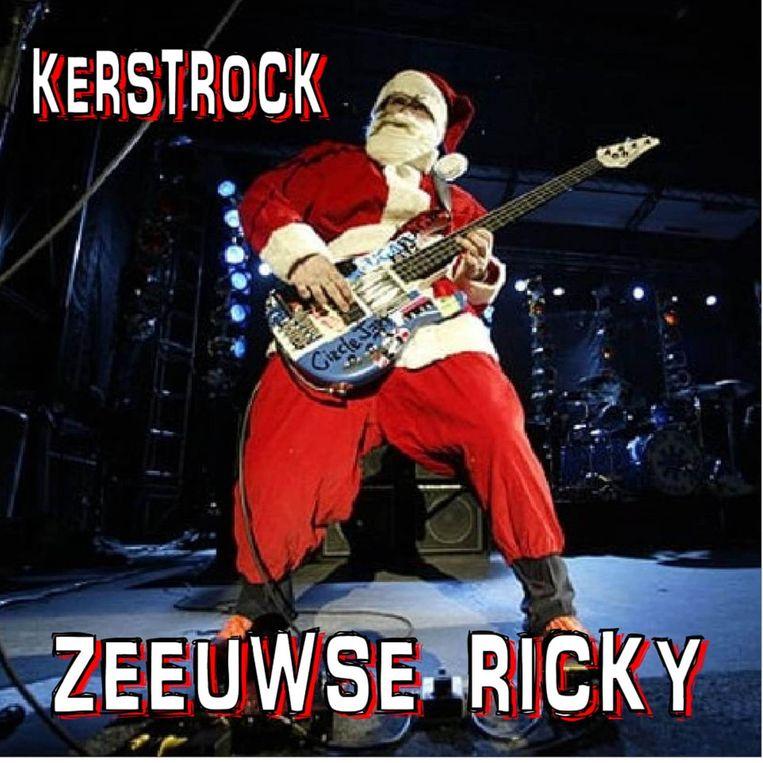 Zeeuwse Ricky heeft met 'Kerstrock' net een nieuwe cd klaar.