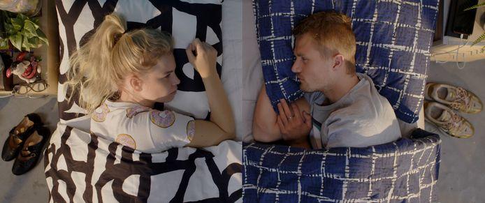Scène uit Split-Up, een korte film van Katja Jansen.