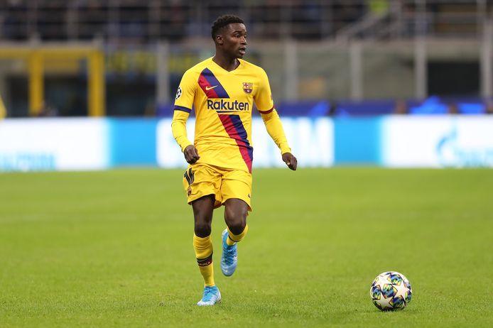 Moussa Wagué bij Barcelona
