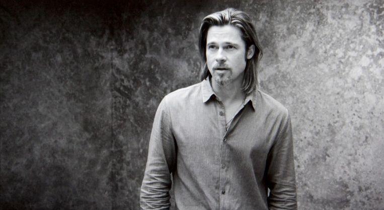 Brad Pitt in de Chanelreclame. Beeld