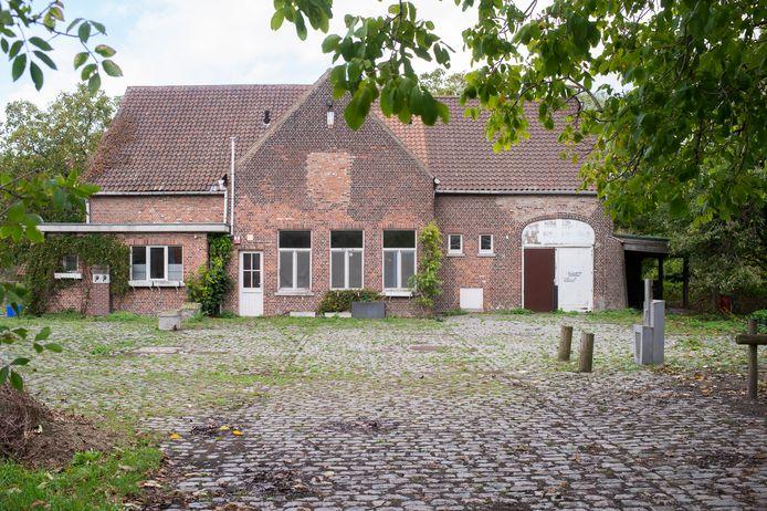 De kinderboerderij in Wilrijk.