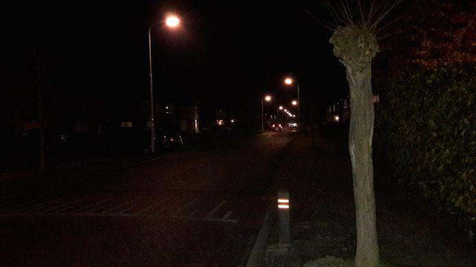 De Merelstraat in Hulst om acht uur 's avonds. Niet druk maar ook niet uitgestorven. Er rijden af en toe auto's door de straat en je ziet regelmatig iemand hardlopen of met de hond wandelen. Als er een avondklok zou gelden, zou je verschil zien.