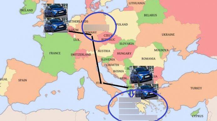 De politie denkt dat de groep meer 'geldtransporten' organiseerde en dat dit slechts één van de gebruikte routes was.