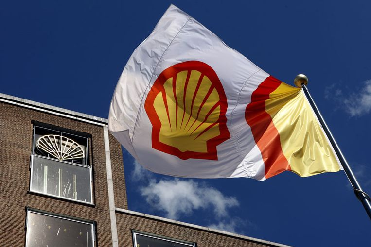 Het Shell-hoofdkantoor in Den Haag. Beeld ANP