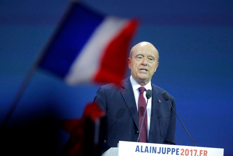 Alain Juppé. Beeld AP