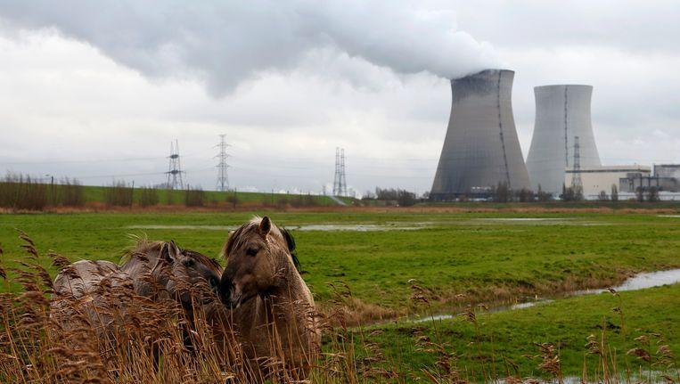 De kerncentrale van Doel. Beeld reuters