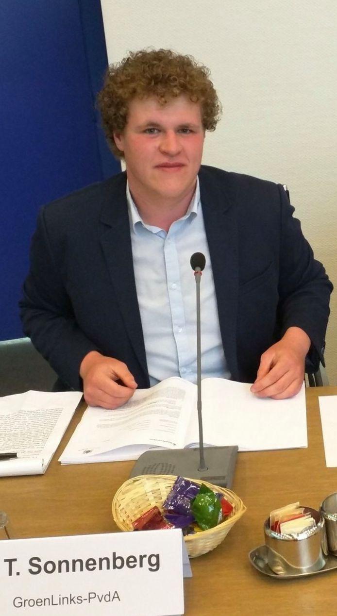 Raadslid Tim Sonnenberg