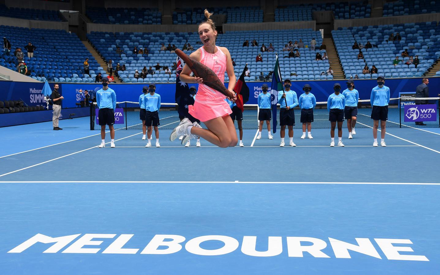 Sacrée en double à Melbourne, Elise Mertens peut clairement viser une médaille à Tokyo.