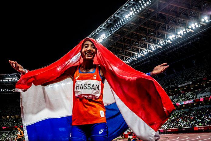 Sifan Hassan was de grootverdiener van deze Olympische Spelen voor Nederland.