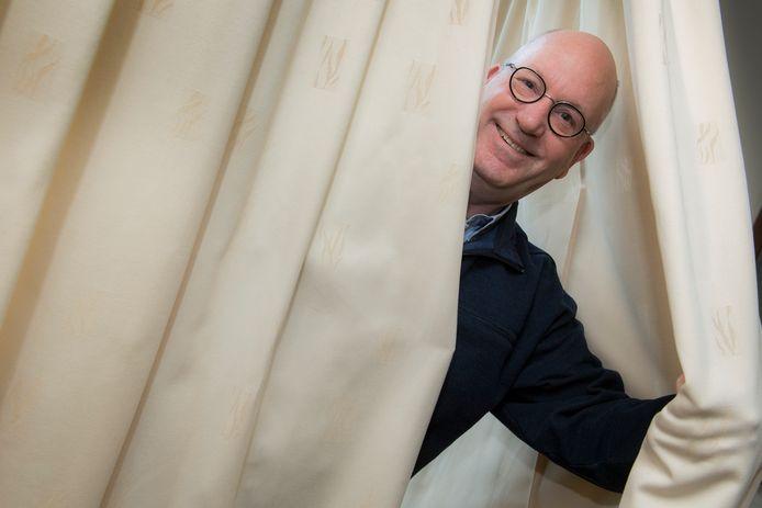 Dirigent en artistiek leider van Elstars MuziekTheater, Hans van Beren.